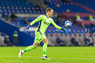 Cardiff City's Goalkeeper Alex Smithies (12) in action during the EFL Sky Bet Championship match between Cardiff City and Barnsley at the Cardiff City Stadium, Cardiff, Wales on 3 November 2020.