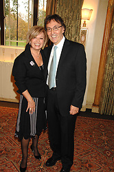 ELAINE PAIGE and DON BLACK at a tribute lunch for Elaine Paige hosted by the Lady Taverners at The Dorchester, Park Lane, London on 13th November 2007.<br />