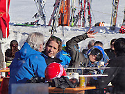 BAQUEIRA, SPAIN, 2015, DECEMBER 23 <br /> <br /> Princess Elena and daughter sky skiing <br /> <br /> Her Royal Highness Princess Elena and her daughter Victoria Federica, have fun asking at the weekend. The King's sister, oblivious to the sensitive personal moments that are happening with her sister Princess Cristina who is on trial for corruption charges, Despite the difficult situation that is going on Princess Elena keeps smiling and enjoying the company of friends. On this occasion, the Duchess of Lugo traveled to Lleida Baqueira Beret to enjoy a weekend with her daughter and some friends<br /> ©Exclusivepix Media