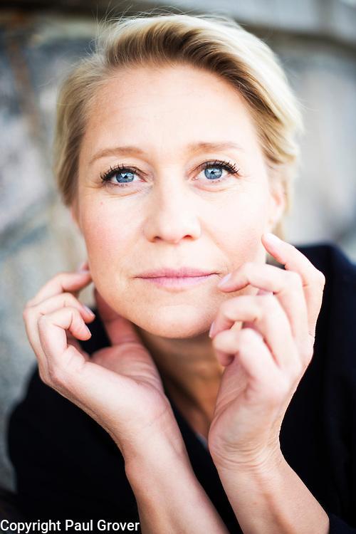 Copenhagen.Denmark.Danish Actress Trine Dryholm in Copenhagen