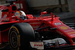 April 14, 2017 - Sakhir, Bahrain - Motorsports: FIA Formula One World Championship 2017, Grand Prix of Bahrain, .#5 Sebastian Vettel (GER, Scuderia Ferrari) (Credit Image: © Hoch Zwei via ZUMA Wire)