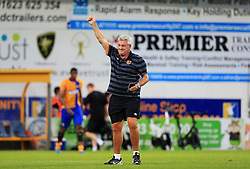 Hull City manager Steve Bruce gives a thumbs up at full time - Mandatory by-line: Matt McNulty/JMP - 19/07/2016 - FOOTBALL - One Call Stadium - Mansfield, England - Mansfield Town v Hull City - Pre-season friendly