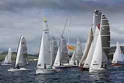 Peelport Clydeport Largs Regatta Week 2013 <br /> <br /> Fast Handicap Start<br /> <br /> Largs Sailing Club, Largs Yacht Haven, Scottish Sailing Institute