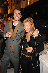 VISCOUNT ERLEIGH and OLIVIA PERRY at a party to celebrate the opening of the new Beatrix Ong store in Burlington Arcade, Piccadilly, London on 14th November 2007.<br /><br />NON EXCLUSIVE - WORLD RIGHTS