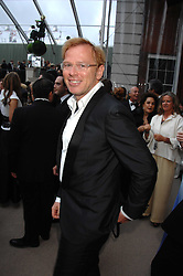DAVID COLLINS at the Ark 2007 charity gala at Marlborough House, Pall Mall, London SW1 on 11th May 2007.<br />