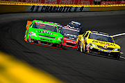 May 24, 2012: NASCAR Nationwide History 300, Danica Patrick,  Brian Scott , Jamey Price / Getty Images 2012 (NOT AVAILABLE FOR EDITORIAL OR COMMERCIAL USE