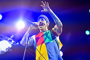 Recording artist Anthony Kiedis of Red Hot Chili Peppers performs onstage at What Stage during Day 3 of the 2017 Bonnaroo Arts And Music Festival in Manchester, Tennessee