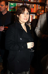 ALEXANDRA SHULMAN at a party to celebrate the publication of The new English Kitchen - Changing the Way You Shop, Cook and Eat by Rose Prince held at the Daunt Bookshop, 83 Marylebon High Street, London on 10th March 2005.<br /><br />NON EXCLUSIVE - WORLD RIGHTS