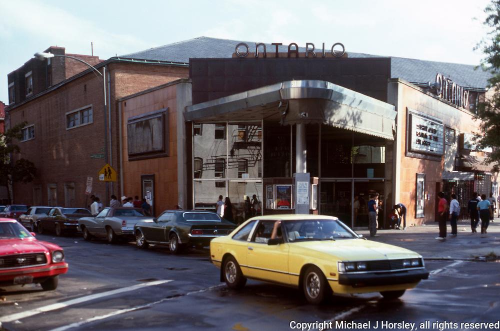 17th and Columbia Road NW Washington DC, 1984