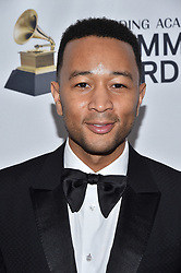 John Legend attends the Clive Davis and Recording Academy Pre-GRAMMY Gala and GRAMMY Salute to Industry Icons Honoring Jay-Z on January 27, 2018 in New York City.. Photo by Lionel Hahn/ABACAPRESS.COM