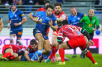 Remi Lamerat - 28.12.2014 - Castres / Montpellier - 14eme journee de Top 14 <br />Photo :  Laurent Frezouls / Icon Sport