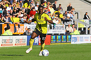 Burton Albion forward Marvin Sordell (17) during the EFL Sky Bet League 1 match between Burton Albion and Scunthorpe United at the Pirelli Stadium, Burton upon Trent, England on 29 September 2018.