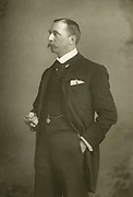 'William Hunter Kendal (1843-1917) English actor-manager, pictured c1990, husband of the actress Madge Kendal.'