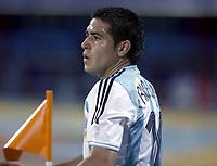 Fotball<br /> Copa America 2007<br /> 28.06.2007<br /> Argentina v USA<br /> Foto: imago/Digitalsport<br /> NORWAY ONLY<br /> <br /> Juan Roman Riquelme (Argentinien)
