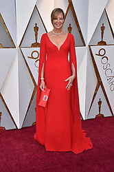 Allison Janney walking the red carpet as arriving for the 90th annual Academy Awards (Oscars) held at the Dolby Theatre in Los Angeles, CA, USA, on March 4, 2018. Photo by Lionel Hahn/ABACAPRESS.COM