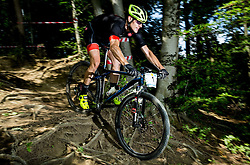 Bostjan Hribovsek during Cross Country XC Mountain bike race for Slovenian National Championship in Kamnik, on July 12, 2015 in Kamnik,  Slovenia. Photo by Vid Ponikvar / Sportida