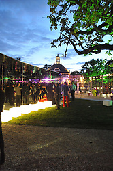 Atmosphere at the annual Serpentine Gallery Summer Party sponsored by Canvas TV  the new global arts TV network, held at the Serpentine Gallery, Kensington Gardens, London on 9th July 2009.