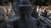 Buddha Statue Workshops, Mandalay, Myanmar