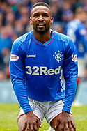 Jermain Defoe of Rangers FC during the Ladbrokes Scottish Premiership match between Rangers and Aberdeen at Ibrox, Glasgow, Scotland on 27 April 2019.