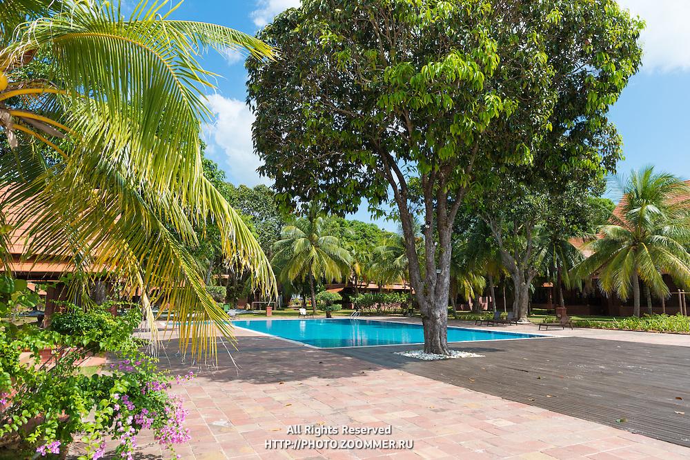 Luxurious Moonlight Bay Resort pool, Langkawi, Malaysia