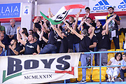 DESCRIZIONE : Brindisi  Lega A 2015-16<br /> Enel Brindisi Obiettivo Lavoro Virtus Bologna<br /> GIOCATORE : Ultras Tifosi Spettatori Pubblico Obiettivo Lavoro Virtus Bologna<br /> CATEGORIA : Ultras Tifosi Spettatori Pubblico Before Pregame<br /> SQUADRA : Obiettivo Lavoro Virtus Bologna<br /> EVENTO : Campionato Lega A 2015-2016<br /> GARA :Enel Brindisi Obiettivo Lavoro Virtus Bologna<br /> DATA : 11/10/2015<br /> SPORT : Pallacanestro<br /> AUTORE : Agenzia Ciamillo-Castoria/M.Longo<br /> Galleria : Lega Basket A 2014-2015<br /> Fotonotizia : Brindisi  Lega A 2015-16 Enel Brindisi Obiettivo Lavoro Virtus Bologna<br /> Predefinita :