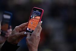 May 16, 2019 - Roma, Italia - Foto Alfredo Falcone - LaPresse.16/05/2019 Roma ( Italia).Sport Tennis.Internazionali BNL d'Italia 2019.Rafael Nadal (esp) vs Nicoloz Basilashmli (geo).Nella foto:Rafael Nadal ripreso da un telefonino..Photo Alfredo Falcone - LaPresse.16/05/2019 Roma (Italy).Sport Tennis.Internazionali BNL d'Italia 2019.Rafael Nadal (esp) vs Nicoloz Basilashmli (geo).In the pic: (Credit Image: © Alfredo Falcone/Lapresse via ZUMA Press)