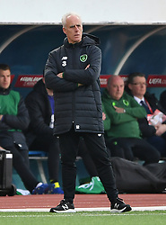 Republic of Ireland manager Mick McCarthy on the touchline during the UEFA Euro 2020 Qualifying, Group D match at the Victoria Stadium, Gibraltar.
