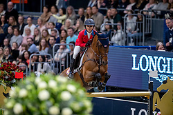 Bloomberg Georgina, USA, Charmeur 137<br /> LONGINES FEI World Cup™ Finals Gothenburg 2019<br /> © Hippo Foto - Stefan Lafrentz<br /> 04/04/2019