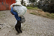 Life in Chichiquastenango, Guatemala.  Juan, an apple farmer, struggles with the recent trend of less rainfall over the last few years as he makes his way home with the apples he didnt sell at market.