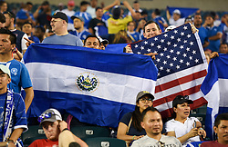 July 19, 2017 - Philadelphia, PA, USA - Philadelphia, PA - Wednesday July 19, 2017: Fans of El Salvador and USA during a 2017 Gold Cup match between the men's national teams of the United States (USA) and El Salvador (SLV) at Lincoln Financial Field. (Credit Image: © Brad Smith/ISIPhotos via ZUMA Wire)