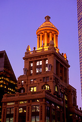 Stock photo of the Niels Esperson Building in downtown Houston, Texas