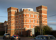 Le Marchant Barracks home of Wiltshire Regiment 1878-1967 converted to housing, Devizes, England, UK