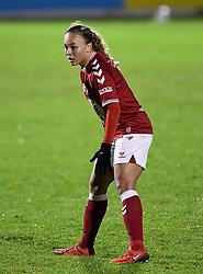 Ebony Salmon of Bristol City Women - Mandatory by-line: Ryan Hiscott/JMP - 13/01/2021 - FOOTBALL - Twerton Park - Bath, England - Bristol City Women v Aston Villa Women - FA Continental Cup quarter final