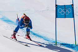 February 17, 2018 - PyeongChang, South Korea - SOFIA GOGGIA of Italy during Alpine Skiing: Ladies Super-G at Jeongseon Alpine Centre at the 2018 Pyeongchang Winter Olympic Games. (Credit Image: © Patrice Lapointe via ZUMA Wire)