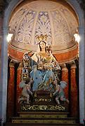Israel, Haifa, Interior of Stella Maris Carmelite Church, Mt. Carmel
