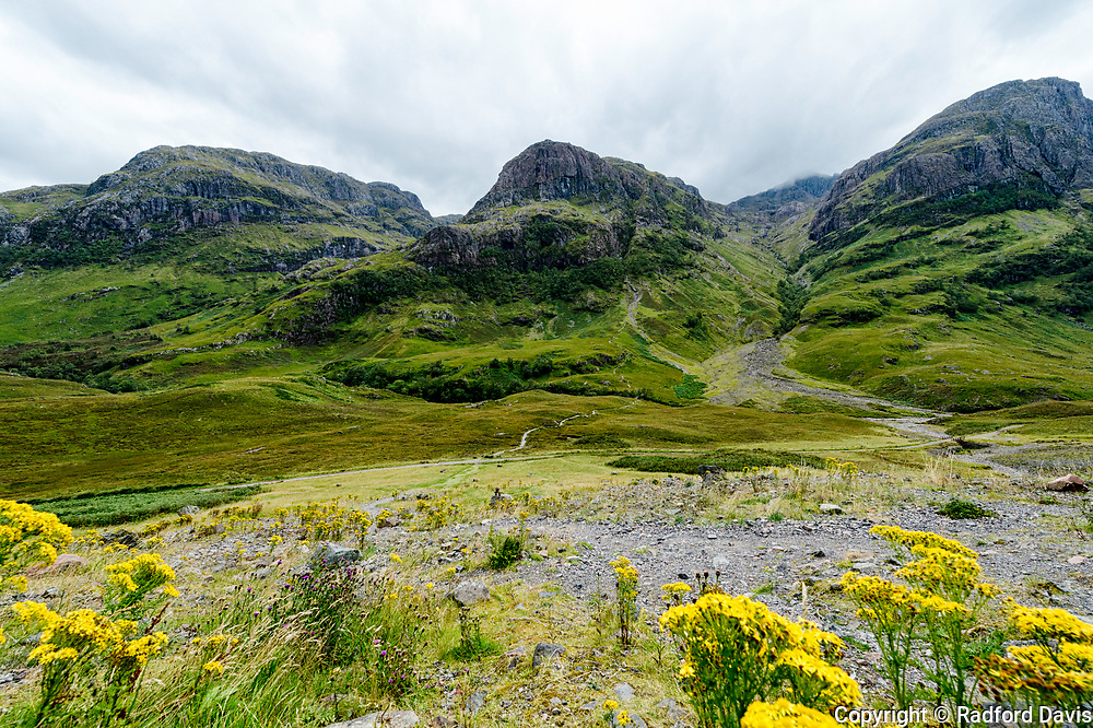 The hills of Scotland