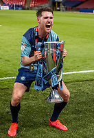 Wycombe Wanderers' Paul Smyth celebrates <br /> <br /> Photographer Andrew Kearns/CameraSport<br /> <br /> Sky Bet League One Play Off Final - Oxford United v Wycombe Wanderers - Monday July 13th 2020 - Wembley Stadium - London<br /> <br /> World Copyright © 2020 CameraSport. All rights reserved. 43 Linden Ave. Countesthorpe. Leicester. England. LE8 5PG - Tel: +44 (0) 116 277 4147 - admin@camerasport.com - www.camerasport.com