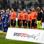 Kayserispor Erciyesspor's and Besiktas's players during their Turkish superleague soccer match Kayserispor Erciyesspor between Besiktas at Kadir Has Stadium in Kayseri Turkey on Monday 27 October 2014. Photo by Aykut AKICI/TURKPIX