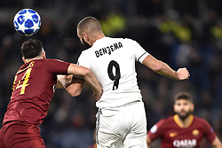November 27, 2018 - Rome, Rome, Italy - Karim Benzema of Real Madrid during the UEFA Champions League match between Roma and Real Madrid at Stadio Olimpico, Rome, Italy on 27 November 2018. (Credit Image: © Giuseppe Maffia/Pacific Press via ZUMA Wire)