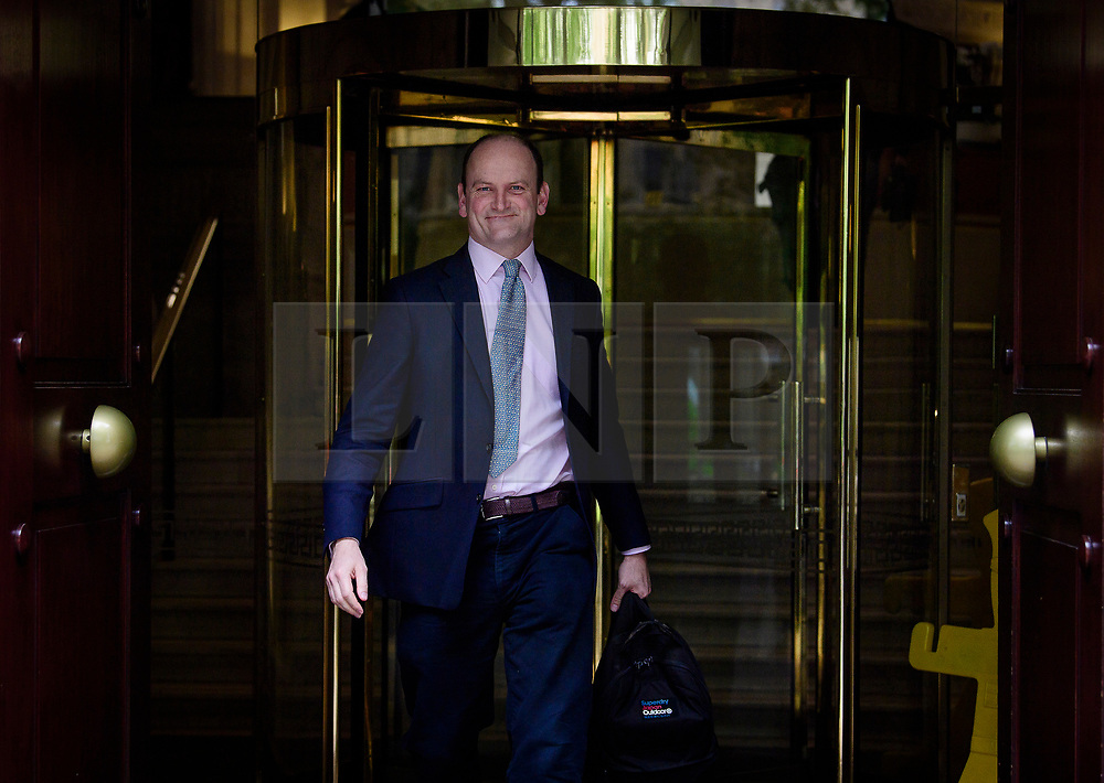© Licensed to London News Pictures. 05/05/2017. London, UK. DOUGLAS CARSWELL seen in Westminster on the morning of local and mayoral election results. Local election results are believed to be a possible indicator of how Labour might perform at the general election on June 8. Photo credit: Ben Cawthra/LNP