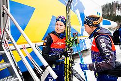 January 2, 2018 - Oberstdorf, GERMANY - 180102 Jennie …berg of Sweden ahead of a training session during Tour de Ski on January 2, 2018 in Oberstdorf..Photo: Jon Olav Nesvold / BILDBYRN / kod JE / 160117 (Credit Image: © Jon Olav Nesvold/Bildbyran via ZUMA Wire)