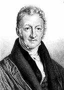 Thomas Robert Malthus (1766-1834) English economist and clergyman, author of 'Essay on the Principle of Population', 1798. Advocate of population control.