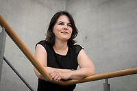 02 JUL 2019, BERLIN/GERMANY:<br /> Annalena Baerbock, MdB, B90/Gruene, Parteivorsitzende, Jakob-Kaiser-Haus, Deutscher Bundestag<br /> IMAGE: 20190702-01-049