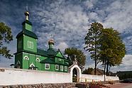 Trześcianka. Zabytkowa drewniana cerkiew