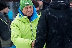 Slovenian President Borut Pahor during Slalom race at 2019 World Para Alpine Skiing Championship, on January 23, 2019 in Kranjska Gora, Slovenia. Photo by Matic Ritonja / Sportida