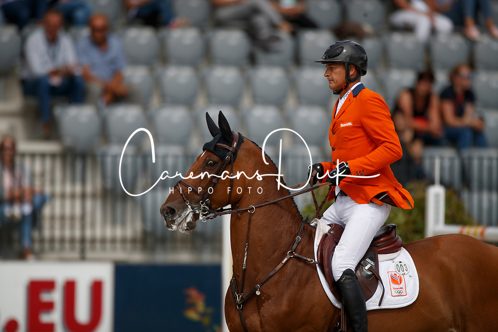 Houtzager Marc, NED, Sterrehofs Calimero<br /> FEI Nations Cup - CHIO Rotterdam 2017<br /> © Hippo Foto - Dirk Caremans<br /> Houtzager Marc, NED, Sterrehofs Calimero