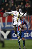 FOOTBALL - FRENCH CHAMPIONSHIP 2010/2011 - L1 - SM CAEN v FC SOCHAUX - 28/11/2010 - PHOTO ERIC BRETAGNON / DPPI -  MODIBO  MAIGA (SOCH)