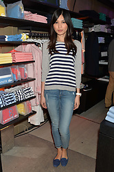 GEMMA CHAN at a party to celebrate the reopening of the Lacoste Premium Store at 233 Regent Street, London on 28th May 2014.