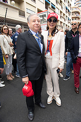 Jean Todt and wife Michelle Yeo attend the F1 Grand Prix of Monaco on May 26, 2019 in Monte-Carlo, Monaco.<br /> Photo by David Niviere/ABACAPRESS.COM