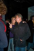 DIXIE CHASSAY; HUGO DE FERRANTI, Favela Descending. Gerry Fox.  Part of Concrete and Glass. Village Underground. Hollywell Lane.  London. 2 October 2008 *** Local Caption *** -DO NOT ARCHIVE-© Copyright Photograph by Dafydd Jones. 248 Clapham Rd. London SW9 0PZ. Tel 0207 820 0771. www.dafjones.com.
